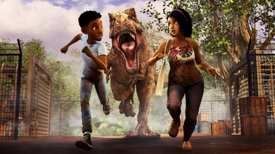 Jurassic World Camp Cretácico temporada 4 netflix