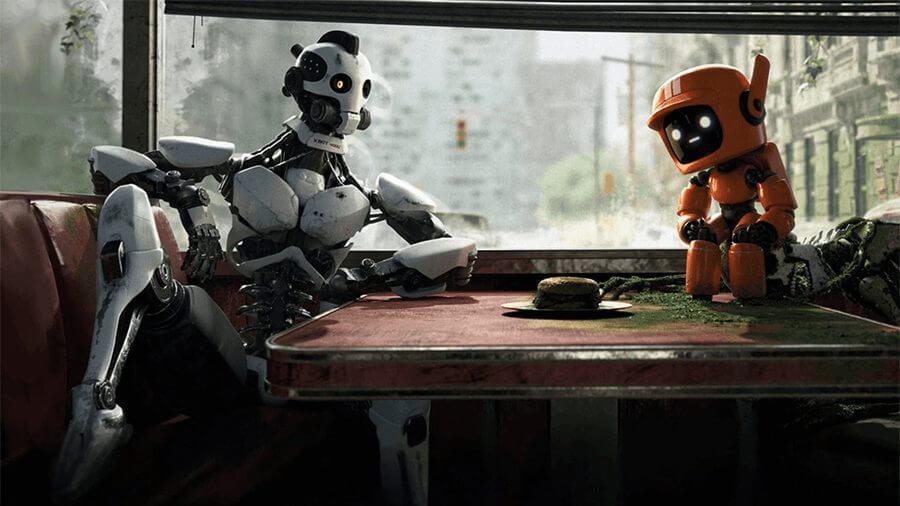 Love Death and Robots Volume 1 Episode 2 three robots