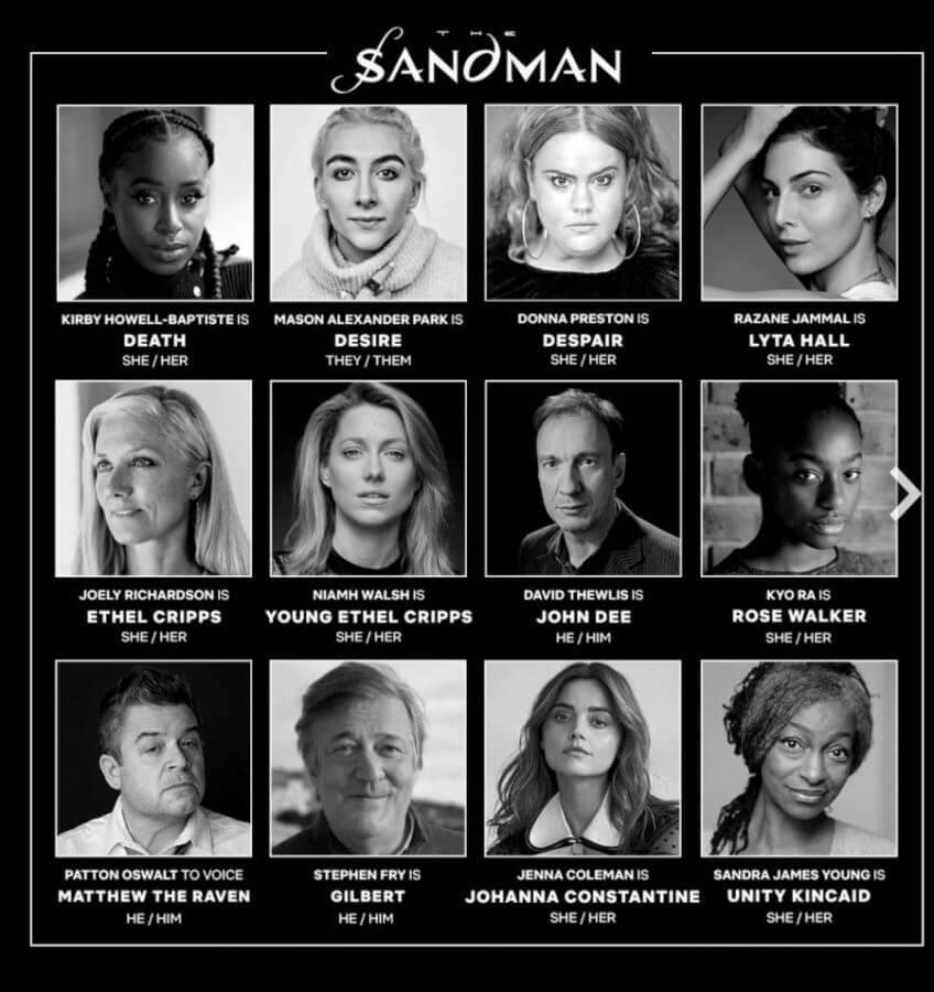 New Cast Members Announced for Netflixs The Sandman Original Series