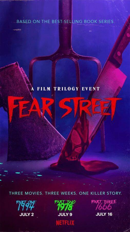 fear street trilogy netflix poster