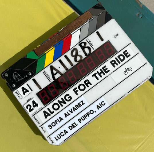 filming for along for the ride netflix