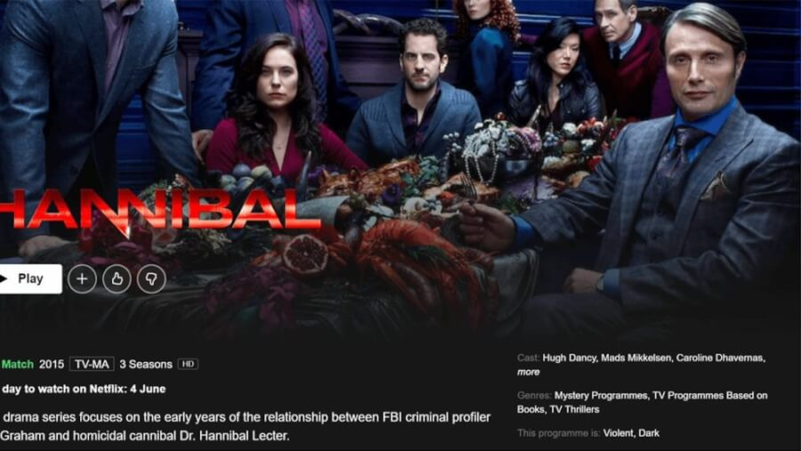 hannibal scheduled to leave netflix in june 2021 leaving date
