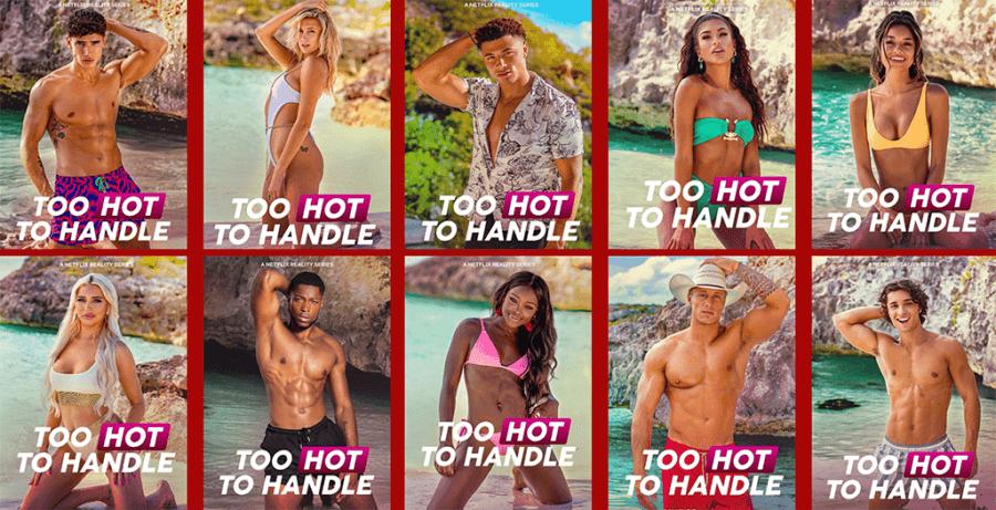 netflix too hot to handle season 2 cast posters copy