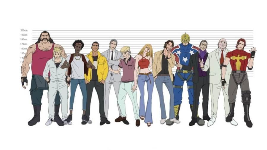 Super Crooks Millarworld Anime Coming To Netflix In November 2021