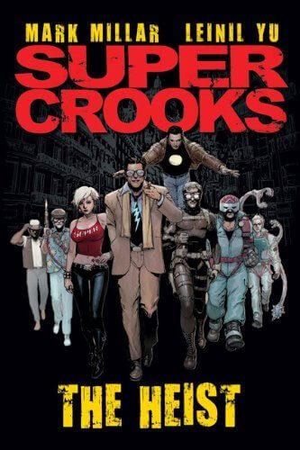 supercrooks comic cover