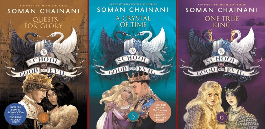 the school for good and evil books camelot years trilogy