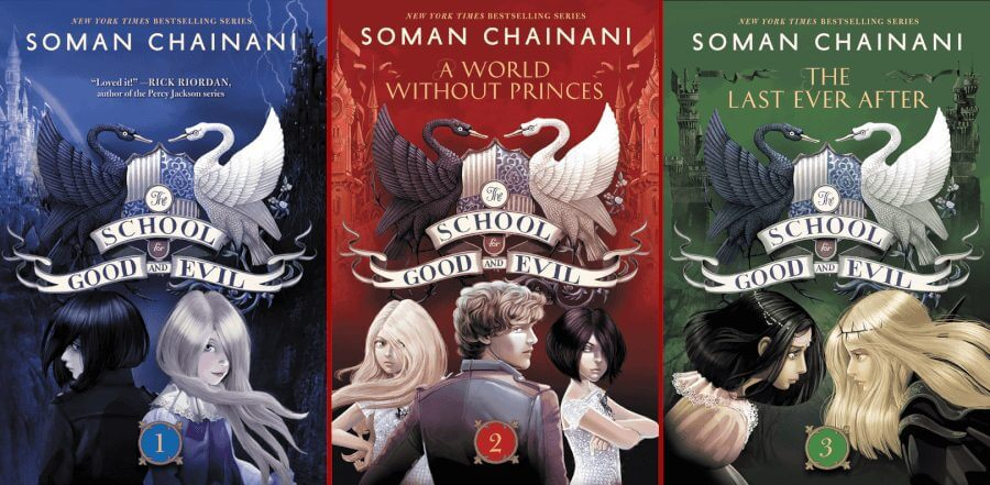 the school for good and evil books school years trilogy