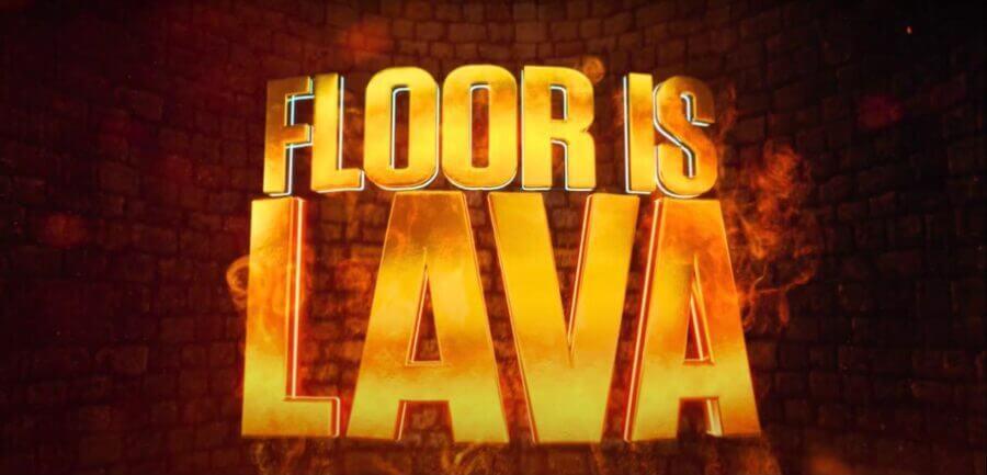 FloorIsLava Netflixlogo