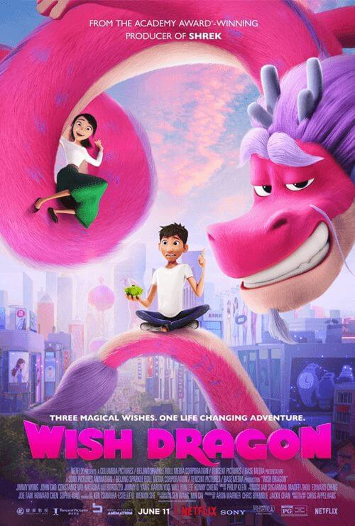 animated adventure wish dragon is coming to netflix in july 2021 english poster png
