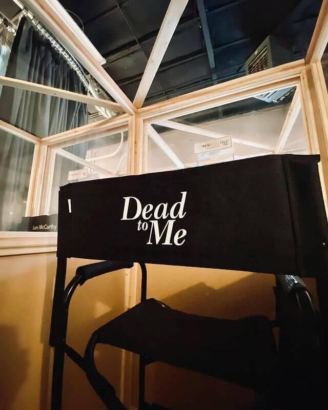 dead to me season 3 set photo
