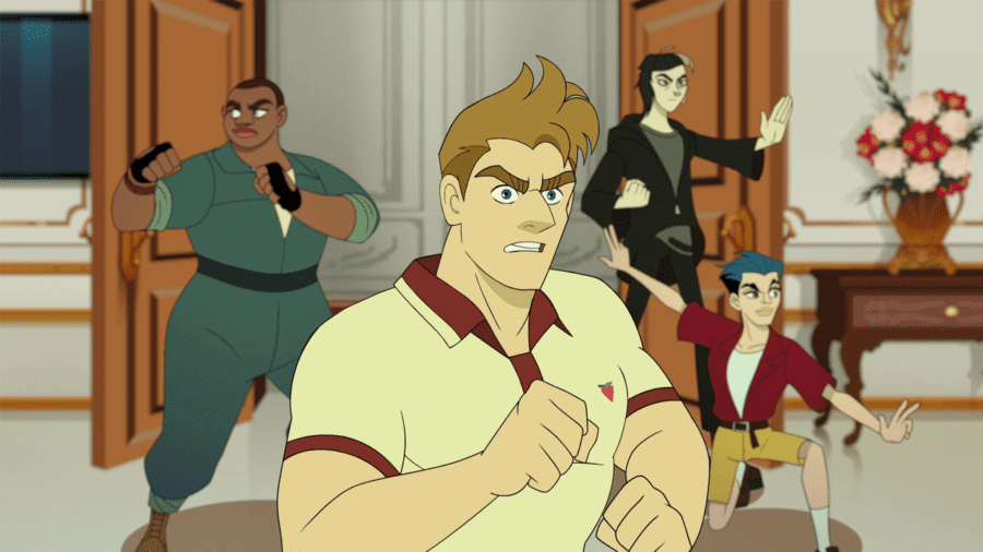 lgbt cartoon q force season 1 is coming to netflix in september 2021