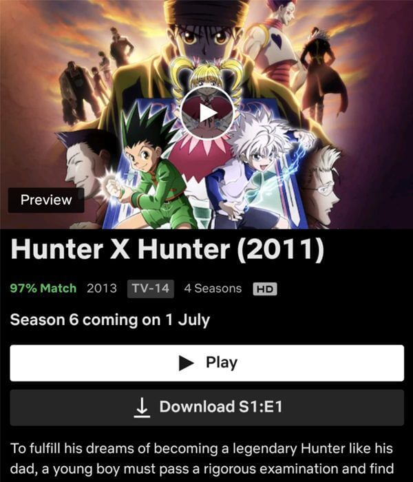seasons 5 6 of hunter x hunter is coming to netflix in july 2021 release date png.