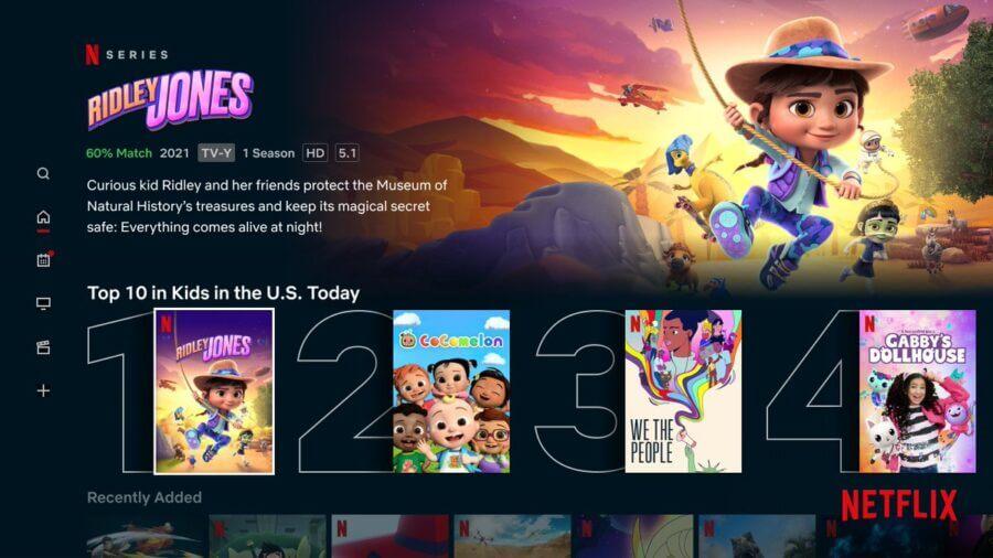 Netflix Kids Top 10