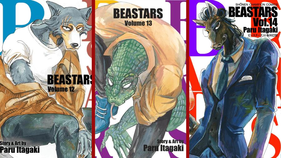 beastars manga volúmenes 12 13 14 netflix