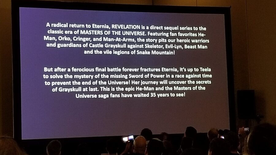 power con snyposis for masters of the universe