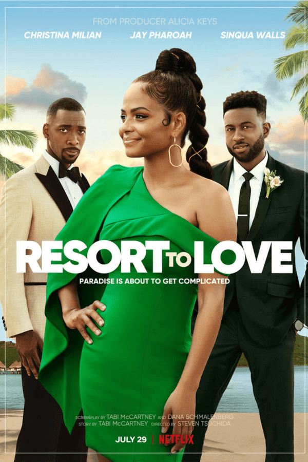resort to love netflix rom com everything we know so far poster