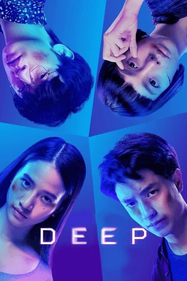 thai sci fi thriller deep netflix movie posterpsd