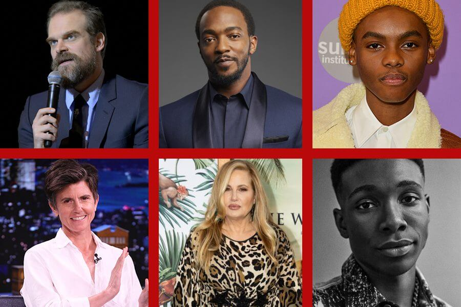 we have a ghost netflix cast grid