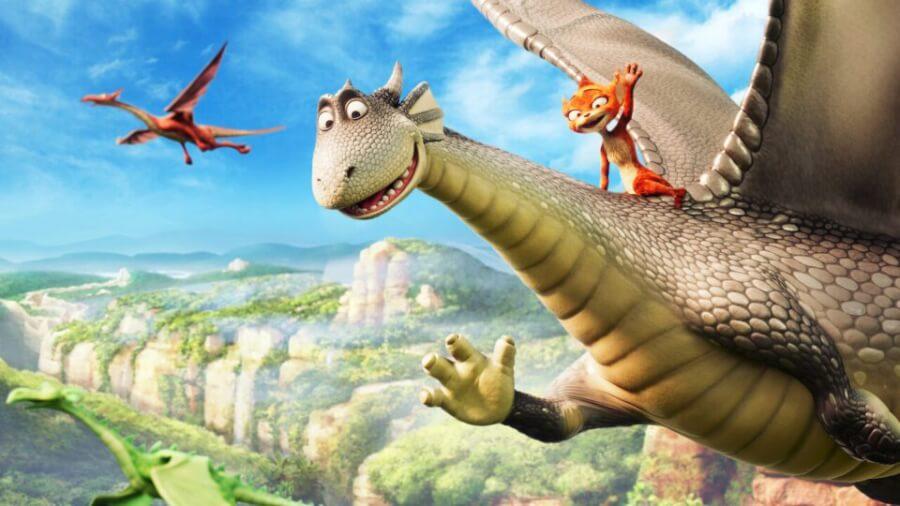 firedrake the silver dragon netflix