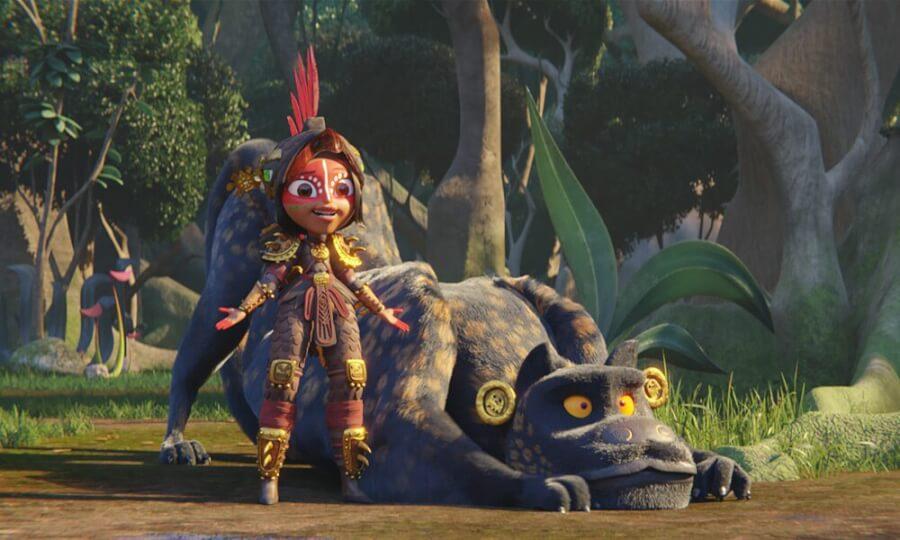 Maya and the three Netflix animated miniseries Princess Maya