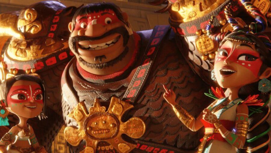 maya and the three netflix animated miniseries