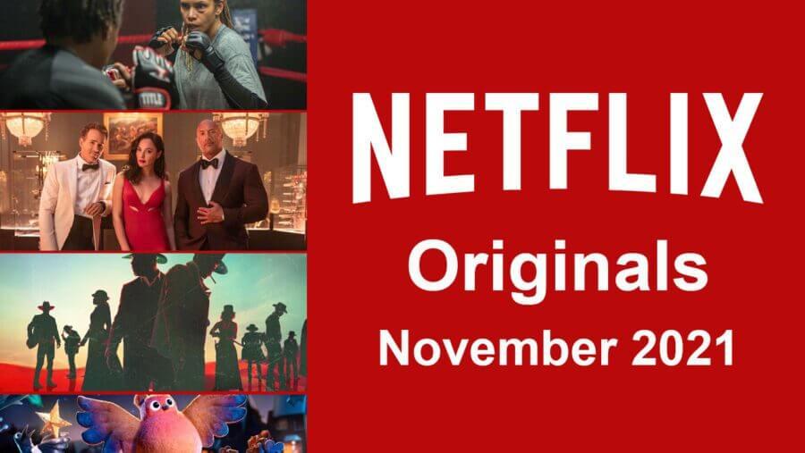 Netflix originals llegará en noviembre de 2021