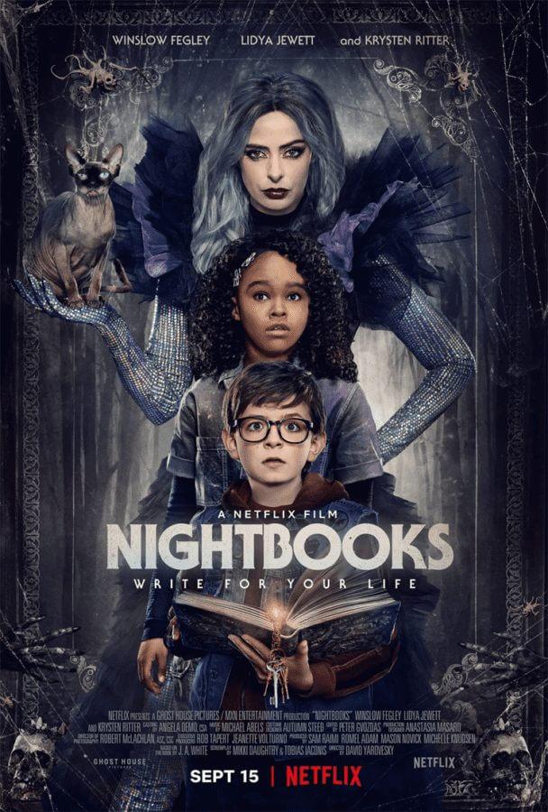 nightbooks horror fantasy netflix movie