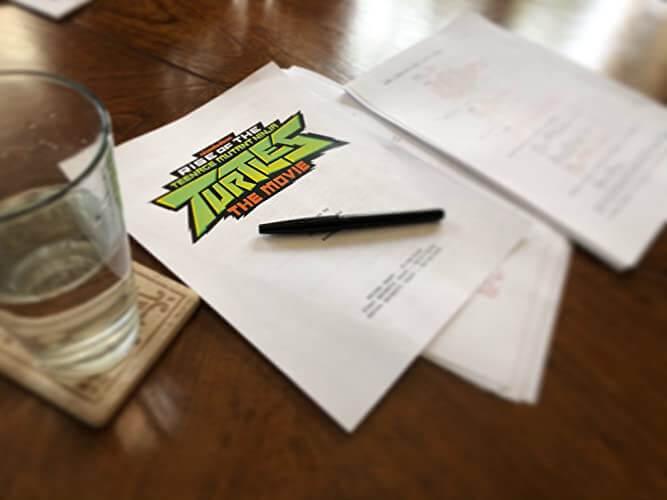 rise of the teenage mutant ninja turtles script