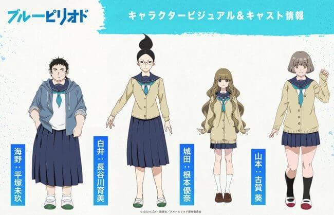 blue period japanese cast netflix 4