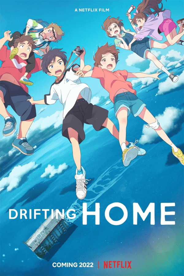 Drifting Home Netflix Anime Movie Poster