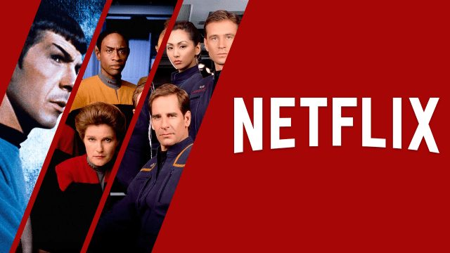 multiple star trek tv shows are scheduled to leave netflix in october 2021