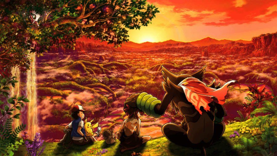 pokemon the movie secrets of the jungle is coming to netflix in october 2021