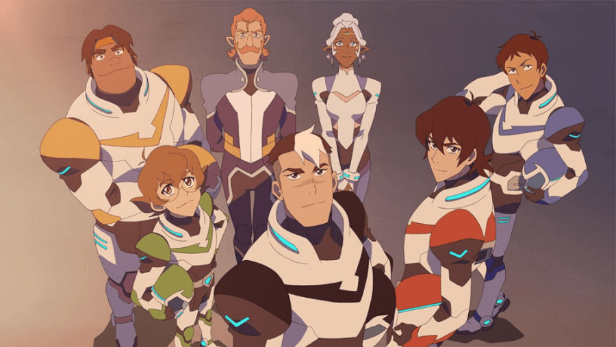 the heroes of voltron legendary defender