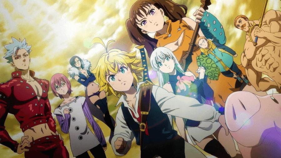 los siete pecados capitales malditos por la luz película de anime que llegará a netflix en octubre de 2021
