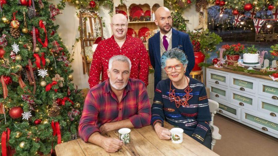 British Baking Show Christmas Special Netflix December 2021