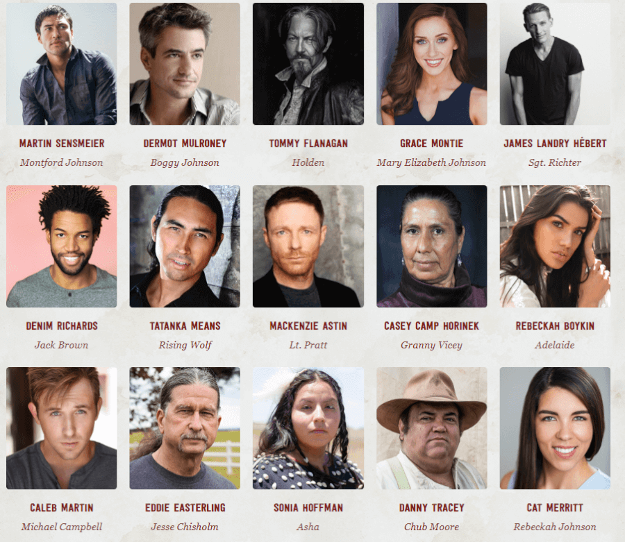 Cast For The Chickasaw Rancher Netflix