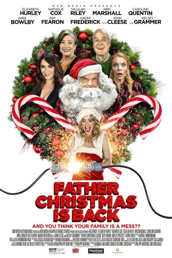 Father Christmas Is Back Netflix Poster 1