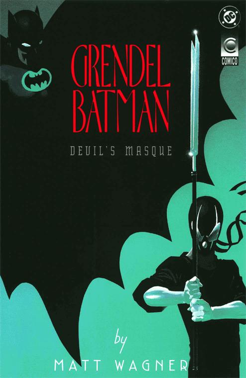 Netflix Comic Adaptation Grendel Series Batman Crossover