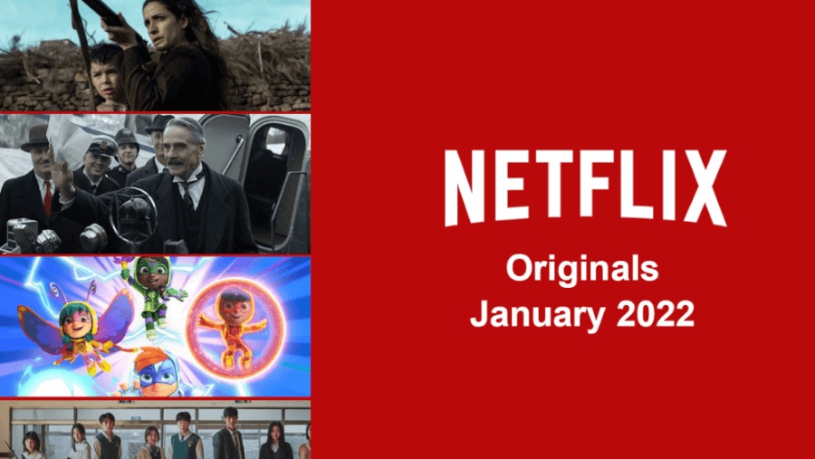 Netflix Originals Coming In January 2022