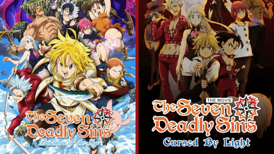 The Seven Deadly Sins Movie Posters Netflix