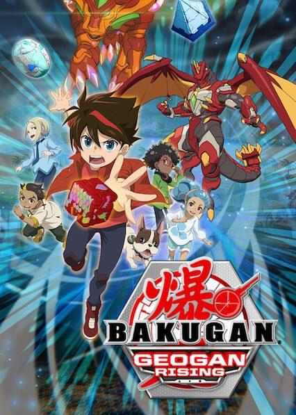 Bakugan: Geogan Rising on Netflix
