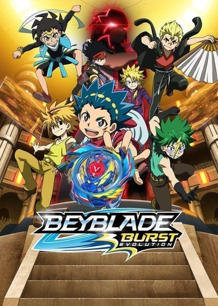 Beyblade Burst Evolutionon Netflix