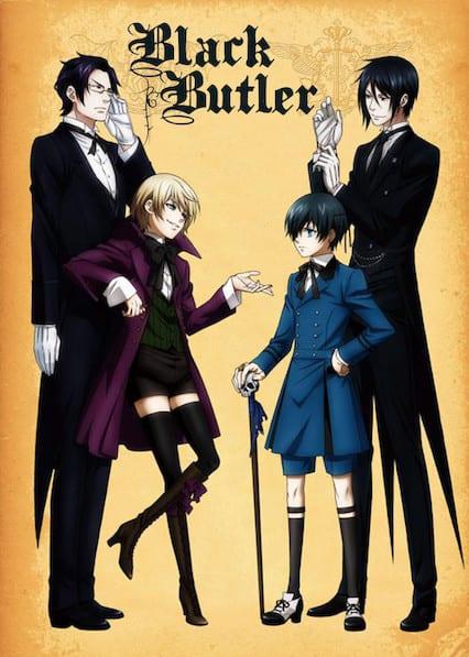 Black Butler (Kuroshitsuji) on Netflix