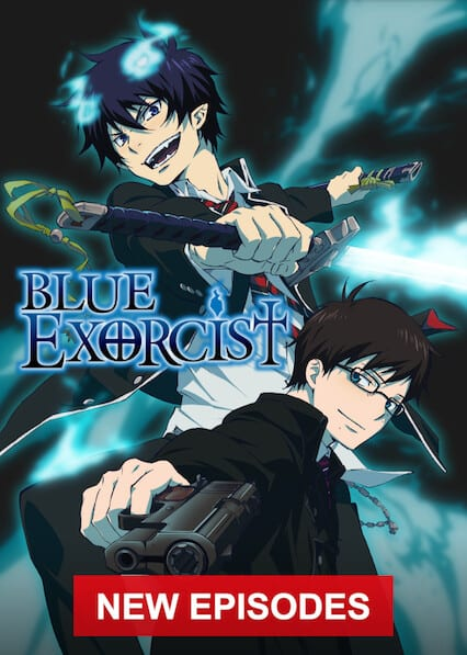 Blue Exorcist on Netflix