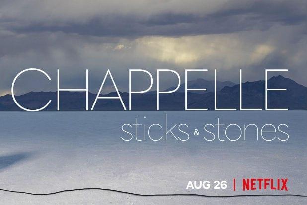 Chappelle: Sticks & Stoneson Netflix