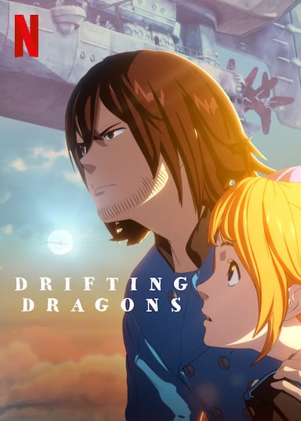 DRIFTING DRAGONS on Netflix