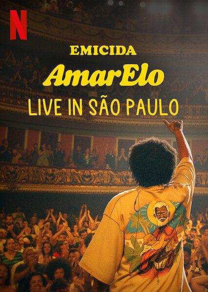 Emicida: AmarElo - Live in São Paulo on Netflix