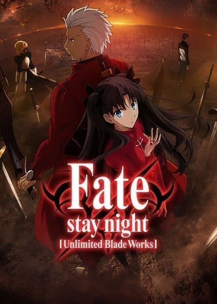 Fate/stay night: Unlimited Blade Workson Netflix