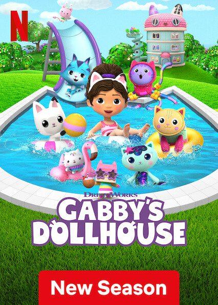 Gabby's Dollhouse on Netflix