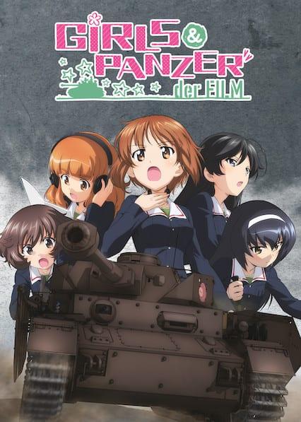 Girls und Panzer der Film on Netflix